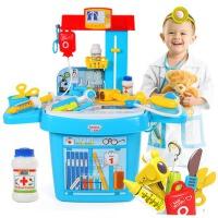 医生玩具套装医具箱打针听诊器儿童过家家玩具3-6岁