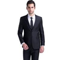 男式西服套装商务休闲男士修身西装新郎结婚礼服酒会宴席正装