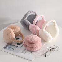 耳罩冬天冬季保暖女可�廴�包耳套�o耳朵捂子防��和��n版�h堡耳帽