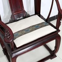 中式古典家具沙发垫坐垫红木椅子座垫加厚海绵椅垫定做定制