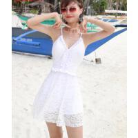 游泳衣女保守新款显瘦遮肚时尚性感韩国可爱日系甜美少女温泉