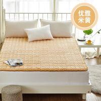 榻榻米床垫1.5m床学生宿舍单双人加厚1.8m床褥海绵垫1.2米被垫子