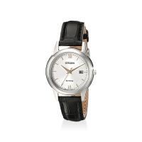 【网易考拉】CITIZEN 西铁城 女士 复古时尚三针光动能手表FE1086-04A