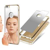 香港 IMAK  苹果Apple iPhone6 Plus 手机套 保护套 手机壳 保护壳 手机保护壳 魔镜锌合金边框套