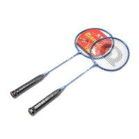 强力 情侣羽毛球拍 初学家庭双拍 学生业余初级训练拍 2支装 P101