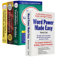 Word Power Made Easy 单词的力量 英文原版 Merriam-Webster's Dictionar