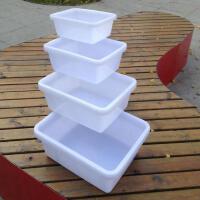 加厚塑料方盆盘收碗盆塑料盒长方盆长方形周转箱长60X宽45X高17CM