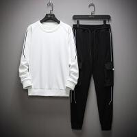 男士卫衣套装秋季韩版潮流青少年运动服休闲修身男装秋装两件套