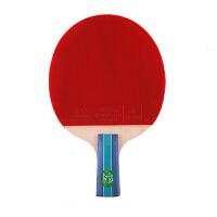 双鱼乒乓球拍 2A 双面反胶乒乓球拍 7层纯木成品拍 初学者2星乒乓球拍