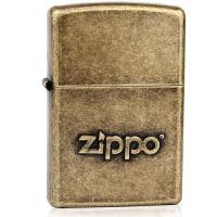 芝宝Zippo打火机 仿古铜冲压 28994仿古铜之宝Zippo标志 2016年春季新款