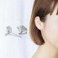 耳钉女s925纯银气质简约百搭个性学生短发超仙
