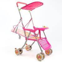 婴儿推车轻便折叠伞车儿童BB藤编推椅竹藤车