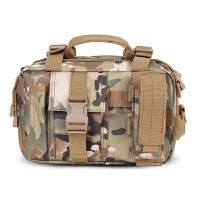 户外登山包大容量单肩包多功能斜跨单肩包迷彩包战术组合包手提包