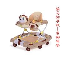 婴幼儿童学步车宝宝助步手推车6-18个月多功能防侧翻可折叠带音乐
