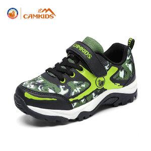 CAMKIDS男大童登山鞋 2018春季新款儿童运动户外鞋防滑缓震