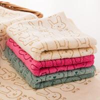 家用��面巾加厚大毛巾通用柔�吸水�和�卡通洗�巾J 加厚大毛巾 75x35cm