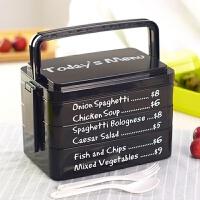 日式便当盒 大号手提学生餐盒 可爱创意便当盒 微波多层塑料饭盒