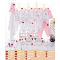 新生儿礼盒0-3月刚出初生宝宝用品套装秋冬季纯棉婴儿衣服