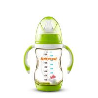 荷兰PPSU奶瓶210ML宽口径防摔 吸管带手柄感温变色g7s