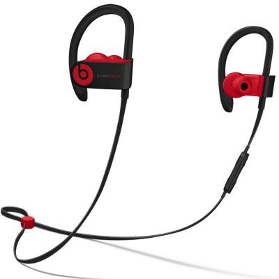 【当当自营】Beats Powerbeats3 Wireless 无线蓝牙 运动 入耳式耳机 桀骜黑红(十周年版)MRQ92PA/A Beats运动耳挂_运动依旧可以潮流