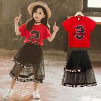 儿童夏装连衣裙春季8岁小女孩两件套裙子