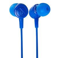 铁三角(Audio-technica)ATH-CKL220 时尚入耳式手机电脑耳机 蓝色