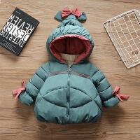 女宝宝棉袄洋气冬季短款棉衣