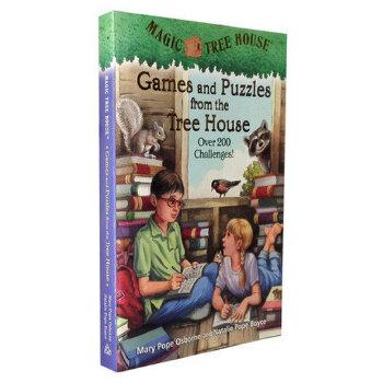 Magic Tree House: Games and Puzzles from the Tree House 神奇树屋:树屋上的游戏和难题 少儿益智书籍家长们推荐的经典有趣书