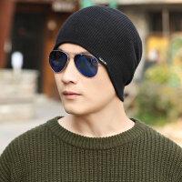 帽子男冬天秋冬季毛线帽羊毛针织帽韩版百搭潮保暖护耳包头套头帽