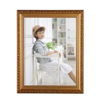 欧式实木相框10寸16寸 20寸24寸A3 A4婚纱照片框摆台挂墙定制画框