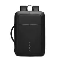 新款男士商务双肩包男背包大容量17寸电脑包多功能出差旅行包手提包