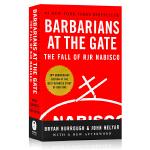 门口的野蛮人Barbarians at the Gate英文原版 华尔街商战纪实 英文版美国商学院教材 20周年纪念版