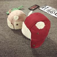 儿童冬季帽子护耳帽加绒宝宝帽子1-2岁保暖男女婴儿帽6-12个月潮
