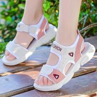 女童运动凉鞋夏季女孩小童软底防滑中大儿童公主男童鞋
