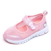 HelloKitty凯蒂猫童鞋新款儿童单网镂空女童休闲鞋