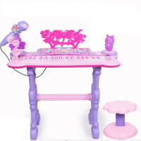 儿童早教电子琴玩具女孩小钢琴音乐麦克风3-6岁多功能音乐电子琴礼物