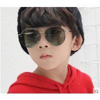 韩版潮儿童款墨镜男女童眼镜孩子眼镜偏光镜 新款时尚个性太阳镜