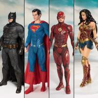 正义联盟 ART寿屋蝙蝠侠超人神奇女侠黑色手办模型玩具摆件