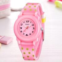 儿童手表女孩男孩夜光小学生手表少女童时尚韩版石英手表