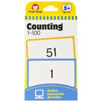 Evan-Moor Learning Line Flashcards Counting 1-100 加州教辅闪卡 1-