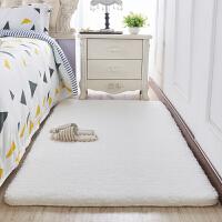 地毯卧室床边毯满铺长方形房间客厅茶几垫加厚羊羔绒飘窗公主地垫