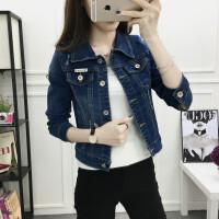 牛仔外套女春秋短款宽松显瘦开衫上衣学生韩版新款修身长袖外套女