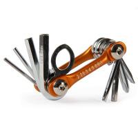 8合1自行车便携工具折叠修车工具 山地车骑行工具配件