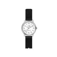 【网易考拉】COACH 蔻驰 女士蒂兰希系列 时尚简约石英表黑色皮带白盘手表
