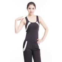 时尚健身服瑜伽服套装 韩版女瑜珈服跳操跑步运动服 支持礼品卡支付