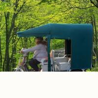 电动三轮车车棚雨篷雨棚全封闭方管加厚遮阳棚防水雨加厚快递