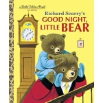【英文原版】Good Night, Little Bear (Little Golden Book) 晚安,小熊 (金