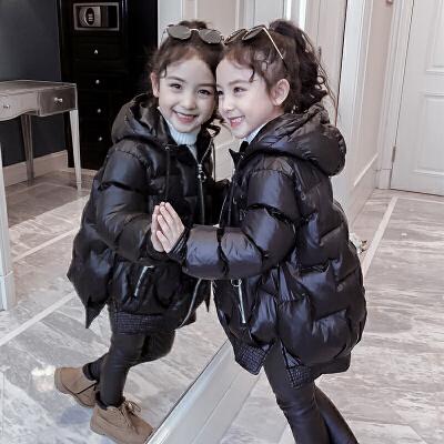 女童冬装棉衣新款外套小女孩棉袄儿童短款羽绒