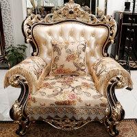 欧式沙发垫四季通用防滑布艺贵妃转角沙发垫套定做