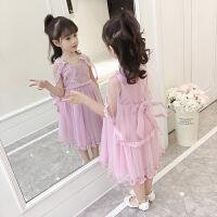 女童连衣裙夏装新款韩版儿童雪纺公主裙小女孩潮宝宝洋气裙子
